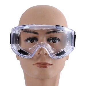Image 5 - Gas Maske Industrielle Halbe Gesicht Malerei Spritzen Atemschutz mit Schutzbrille Anzug Sicherheit Arbeit Filter Ersetzen 3M 6200