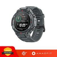 Новинка 2020 CES Amazfit T-rex T rex Smartwatch 5ATM 14 спортивных режимов Смарт-часы GPS/GLONASS MIL-STD для Xiaomi iOS Android