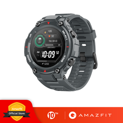 New 2020 CES Amazfit T-rex T rex Smartwatch 5ATM 14 Sports Modes Smart Watch GPS/GLONASS MIL-STD for Xiaomi iOS Android