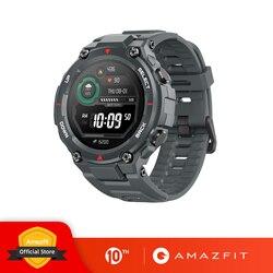 Novo 2020 ces amazfit t-rex t rex smartwatch 5atm 14 modos de esportes relógio inteligente gps/glonass MIL-STD para xiaomi ios android