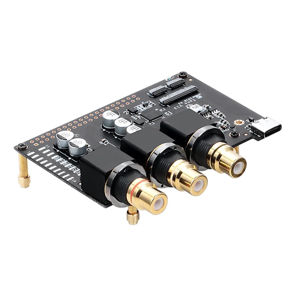 Khadas Tone Board ES9038Q2M USB DAC Hi-Res Audio Development Board with XMOS XU208-128-QF48