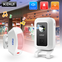 KERUI-timbre de bienvenida inalámbrico M7, dispositivo de detección de movimiento, luz estroboscópica, función Convertible, 433MHZ, antirrobo