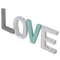 Wooden LOVE letters creative antique wooden English letters wedding props ornaments