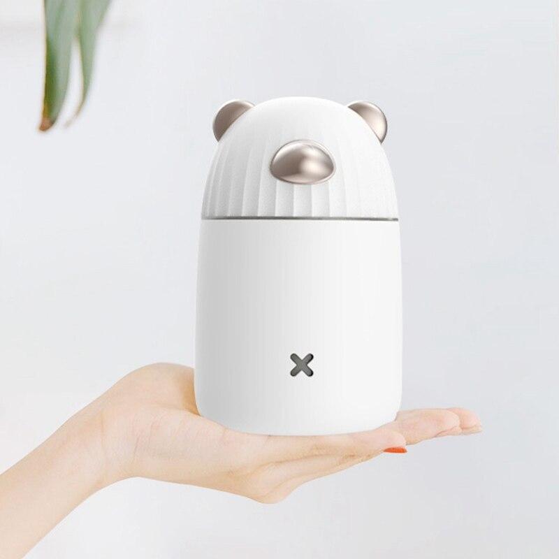 Usb увлажнитель воздуха диффузор эфирного масла с ночными огнями Ароматерапия Увлажнитель Арома диффузор для подарка
