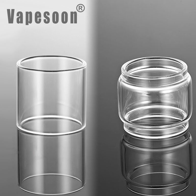 Vapesoon Glass Tube For WASP NANO RTA 2ML 3.5ML  Atomizer Tank Bubble Glass