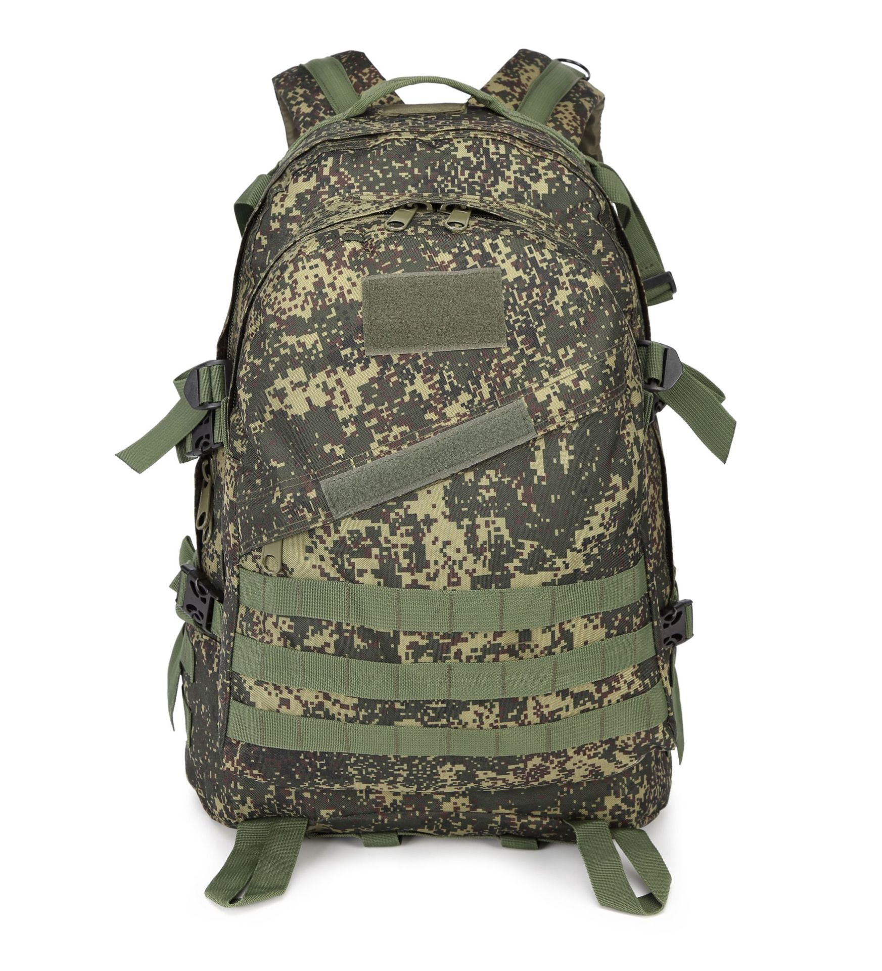 Russian EMR Camouflage Molle Hiking Camping Urban Commuting 3D Tactical Attack Packets Backpack 45L Long-term Currently Availabl