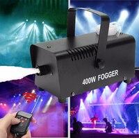 400W Nebel/Rauch Maschine LED RGB DJ Party Licht Drahtlose Fernbedienung Fogger Disco Wirkung für Hochzeit Bar club Weihnachten Bühne