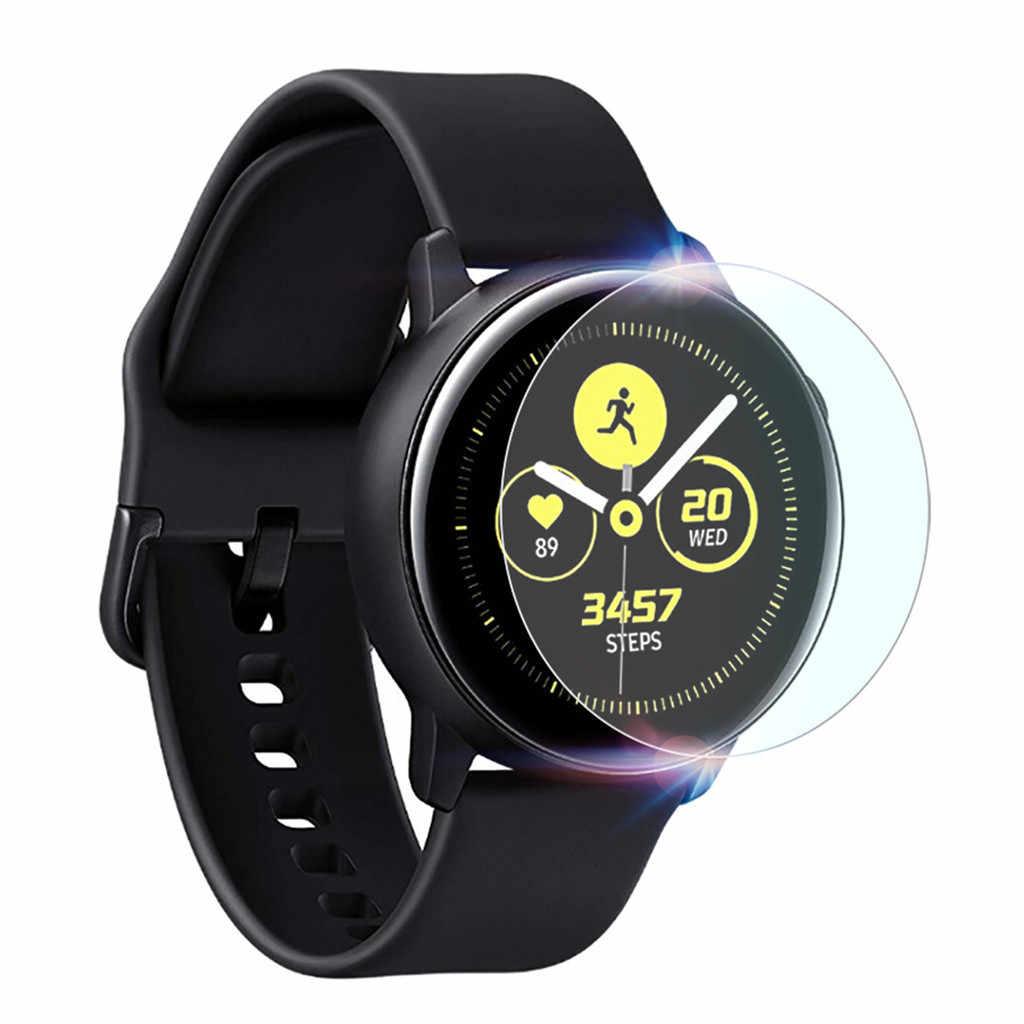 Cho Đeo Thiết Bị 3 PC Chống Cháy Nổ TPU Bảo Vệ Màn Hình Trong Cho Samsung Galaxy Đồng Hồ Hoạt Động 2 44 Mm Hỗ Trợ đồng Hồ Thông Minh Smartwatch