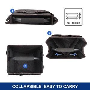 """Image 3 - WORKPRO 10 """"małe narzędzie torba ręczna składane zestawy narzędzi torba na ramię torebka Organizer na narzędzia worek do przechowywania"""