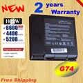 HSW 8 komórek 5200mAh 14.4V A42-G74 Laptop bateria do ASUS G74 G74J G74JH G74S G74SW G74SX serii ICR18650-26F LC42SD1 szybko wysyłka