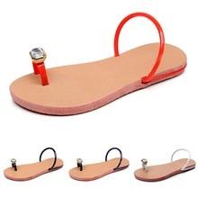 В богемном стиле; летние сандалии на плоской подошве сандалии, женские Тапочки, в сдержанном стиле, на плоской подошве, с украшением в виде кристаллов, на пляже Для женщин повседневная обувь; сандалии; женские пляжные Тапочки Kapcie