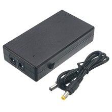 12V UPS непрерывного Питание 2A 22,2 W резервного копирования Мощность мини Батарея для Камера маршрутизатор 111x60x26 мм