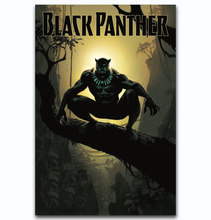 MQ2786 Hot New 2017 BLACK PANTHER DC Marvle Movie Super Hot Art Poster Top Silk Canvas Home Decor Picture Wall Printings(China)