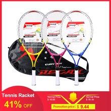 REGAIL, 1 шт., только Теннисная ракетка для подростков, рама из алюминиевого сплава с прочной нейлоновой проволокой, идеально подходит для детских теннисных тренировок