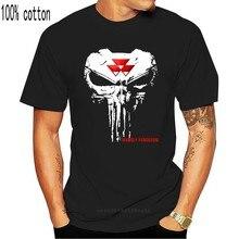 Ciągnik Massey Ferguson-czaszka tak fajna-najlepszy prezent-koszulka męska US rozmiar S do 5XL