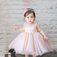 Infant Girl Christening Dress Toddler Gown For 1st Birthday Dresses Girls Wedding Party Frocks Kids Boutique Princess Outfits