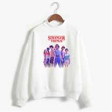 Fashion Stranger things Hoodie Women Sweatshirts Hip hop Streetwear Funny female casual Winter Tops oversized hoodie
