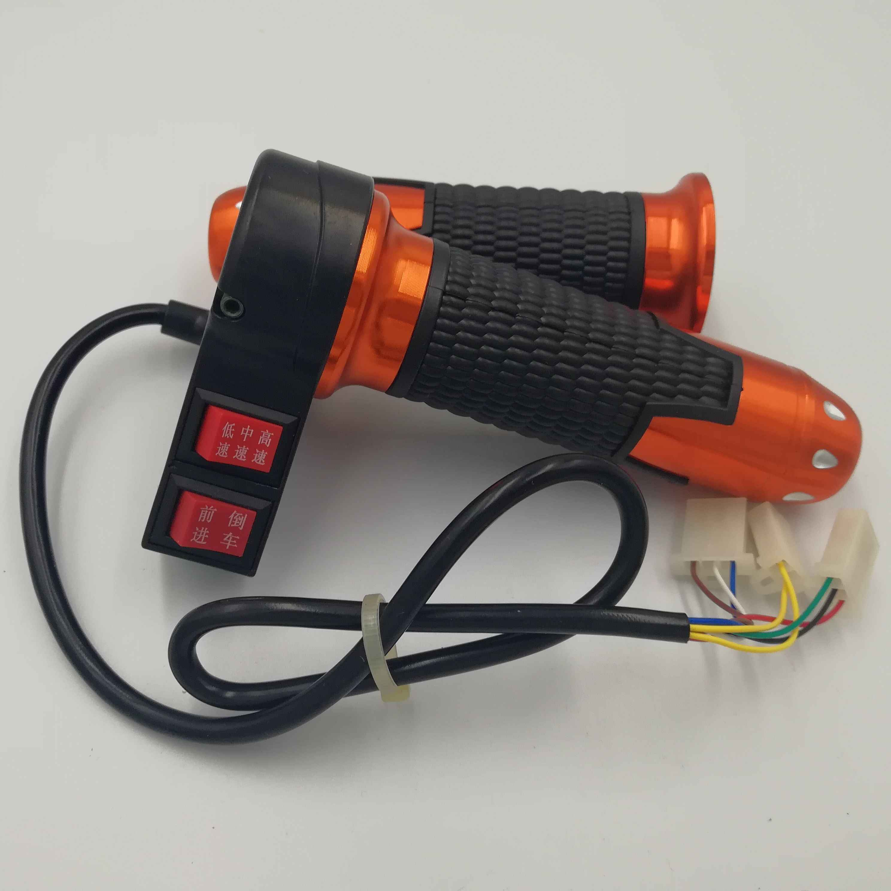 Speed Control Handle For Electric Scooter Bike Throttle Grip Handlebar Black Hot
