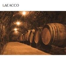 Laeacco ישן יין מרתף אבן מערת Corrider אור עיצוב בית דפוס צילום רקע צילום תפאורות צילום סטודיו
