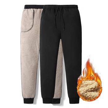 Zagęścić spodnie zimowe męskie oraz aksamitne ocieplane spodnie Slim duże rozmiary ciepłe spodnie stałe trendy sportowe Jogges M-5XL ZA306 tanie i dobre opinie Grandwish Spodnie dresowe 38 - 42 Na co dzień Elastyczny pas Pełnej długości NONE Mieszkanie Heavyweight Poliester Suknem