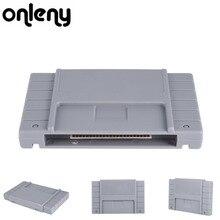 Onleny классический 16-бит супер флеш-накопитель флэш картридж ТВ видео игровая консоль игровая карта Plug& Play для Rockman х