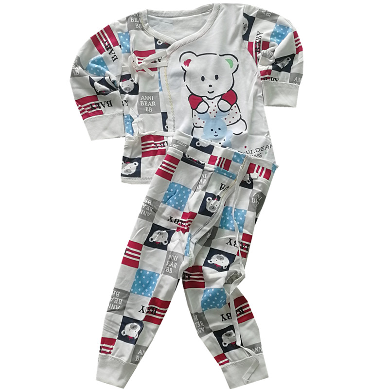 TC Infant Baby Suits Boy Girl Clothes Sets Tops Pants Cotton Underwear Girl Clothing Set For Baby Girls Outfit Newborn 2PCS/SET