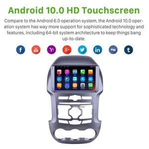 Seicane Android 10,0 ОЗУ 2 Гб ПЗУ 32 Гб 2.5D IPS Автомобильный GPS Радио стерео плеер для 2011 2012 2013 2014 2015 2016 Ford Ranger