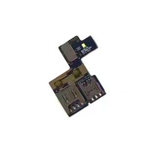 Для Asus Zenfone Go X014D устройство для чтения Sim-карт лоток держатель карты памяти Micro SD слот гибкий кабель запасные части