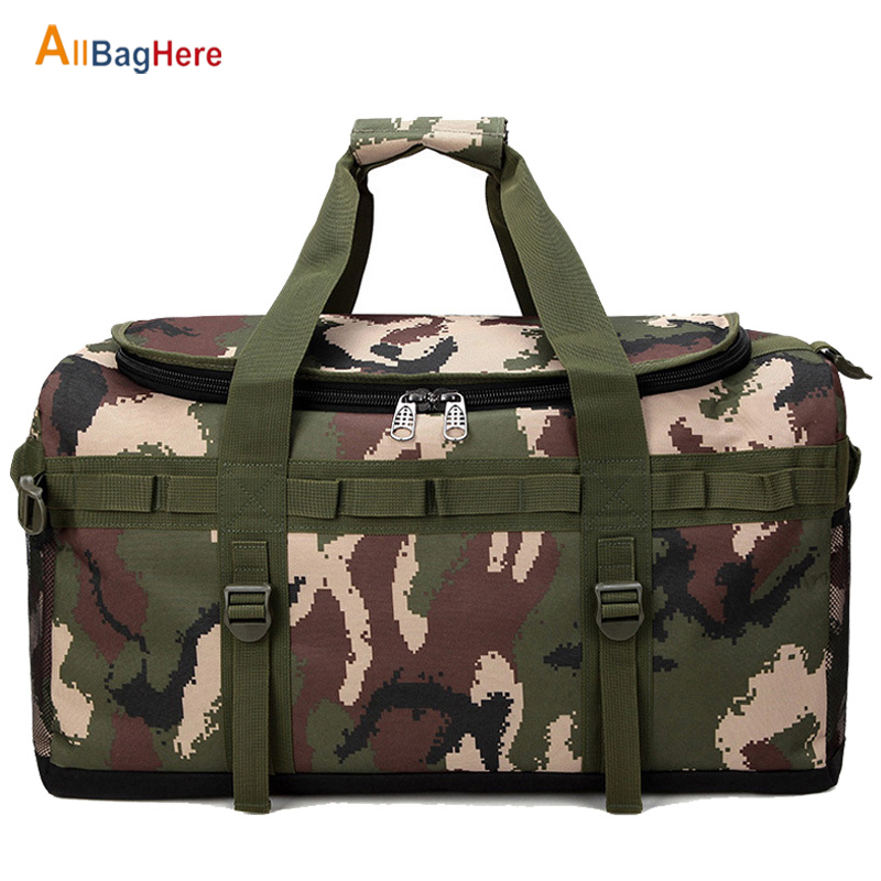 Large Capacity Training Travel Bag Backpack Men Women Tactical Military Molle Army Rucksack Crossbody Camping Sports Duffle Bags