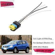 Wiring Dualis/qashqai Plug-Cable Bulb-Socket Taillight ZUK for J10 4-Pins Nissan