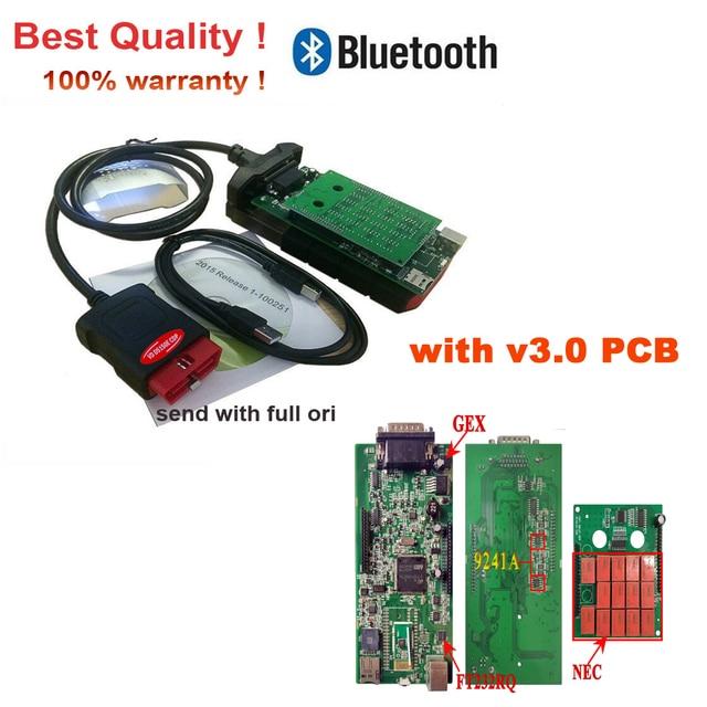 Scanner VD DS150E CDP 2021 obd obd2 con i migliori relè 2017R3 keygen per strumenti diagnostici bluetooth del(