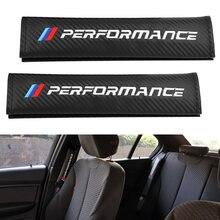 2 шт протектор автомобильного ремня безопасности из углеродного