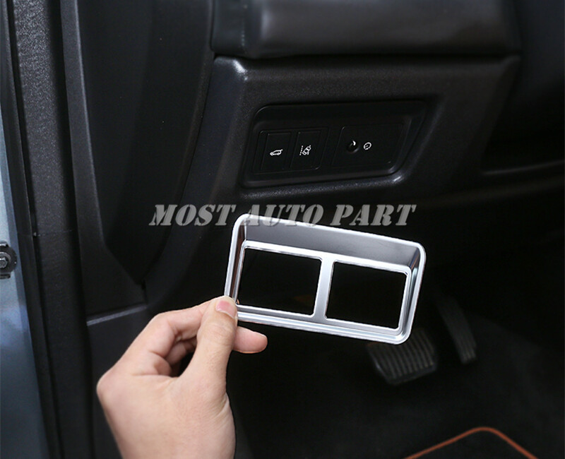 for Jaguar XF X260 2016-2018 ABS Interior Rear Trunk Switch Frame trim 1pcs