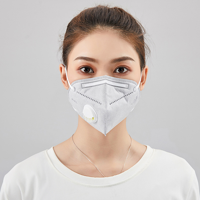 1PC KN95 Face Mouth Mask Protective Dispenser Flu Facial Template Shield Dust Cover Filter Respirator Pm2.5 N95 ffp2 ffp3 n 95 1
