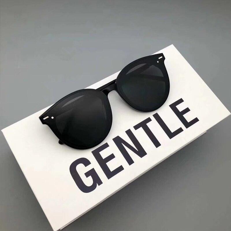 Nouvelle mode corée marque Design doux lunettes De soleil est lune lunettes De soleil grand rond lunettes hommes Oculos Gafas De Sol