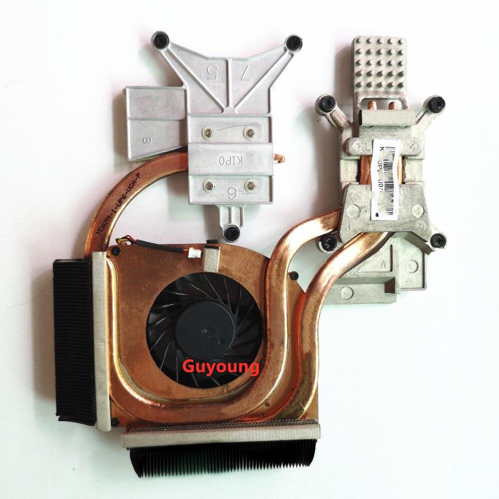radiator heatsink with fan For HP DV6-2000 DV6-2100 cpu cooling fan Heatsink Cooler 579158-001 Kipo055417R1S