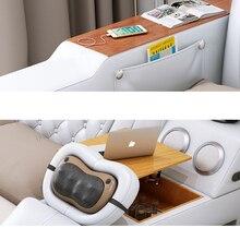 CBMMART электрическая массажная многофункциональная кровать из натуральной кожи