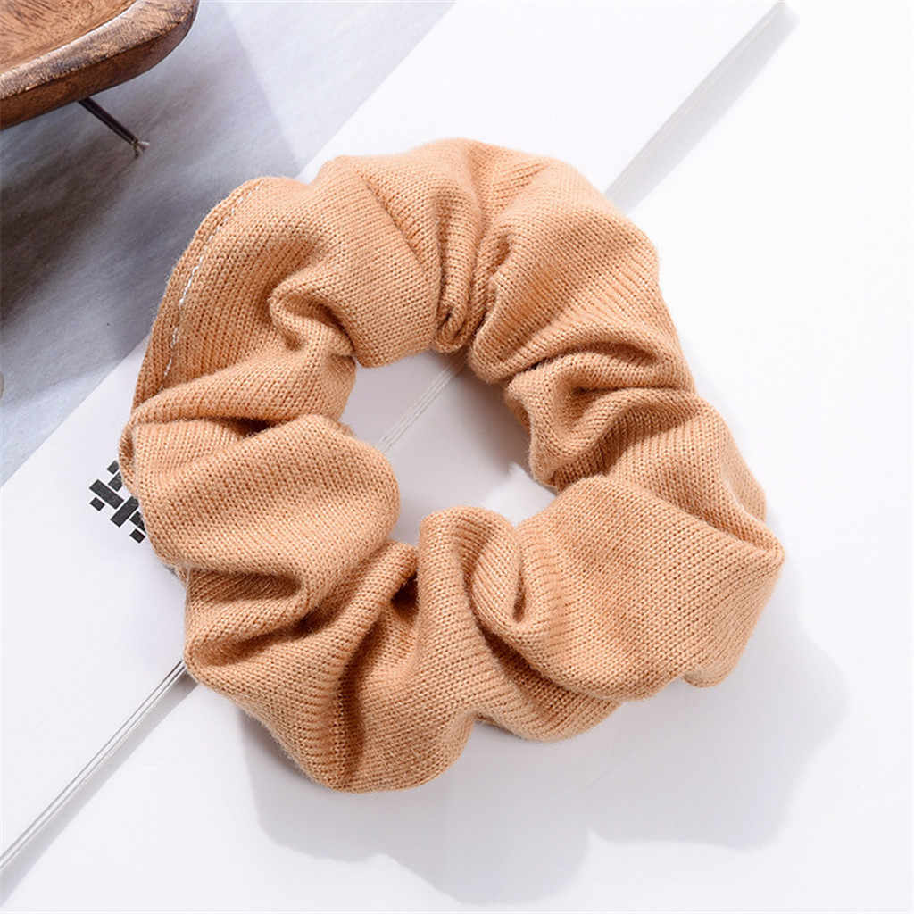 1 шт. модные мягкие бархатные Сатиновые большие эластичные резинки для волос, резинки для волос для женщин, для девочек, милые Однотонные резинки для волос, резинки для волос, аксессуары для волос