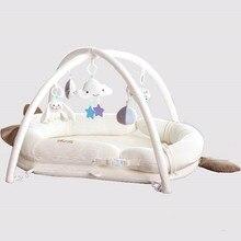 Детская кровать к кровати игровой коврик для новорожденных 0-12 месяцев моющийся