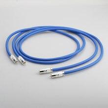 Прозрачный Светлый rca кабель для соединения с картой посеребренный