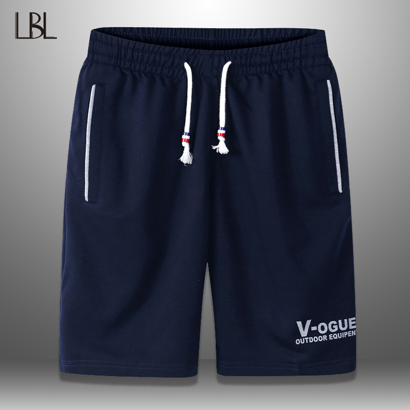 Summer Casual   Shorts   Men Streetwear Fashion Brand Boardshorts Male Breathable Solid   Short   sweatpants Mens Trousers Plus Size 5XL