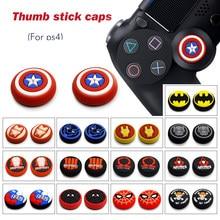 PS5 2PCS Thumb Grip Caps XBOXONE Playstation4 NS Interruttore Pro Controller Joystick Cap Gomma di Silicone Individuale Thumb Grip Caps