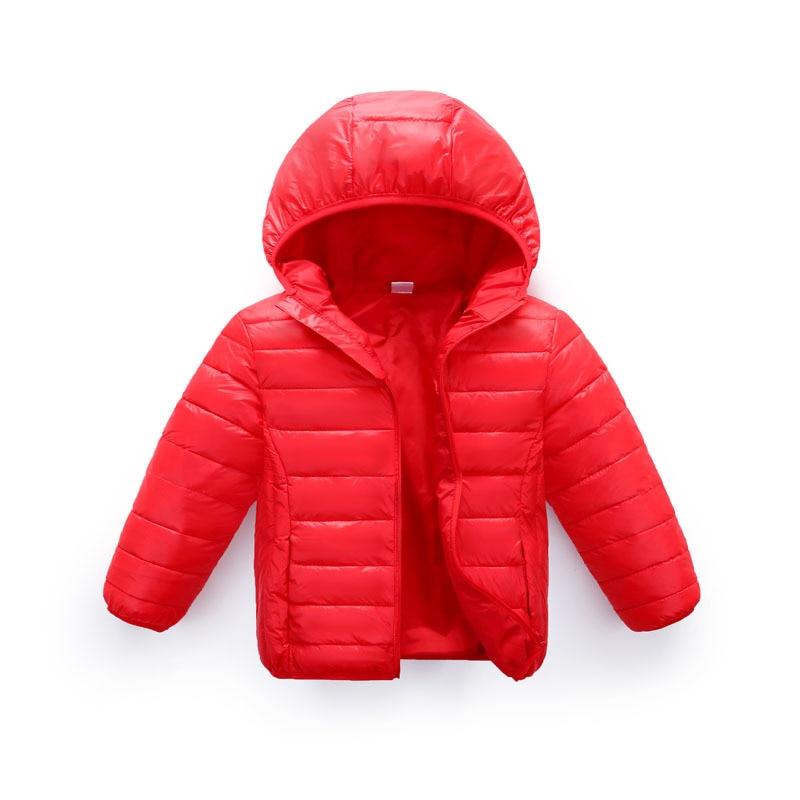 ZWY251 boys winter down jacket for girls white down parkas 90% down warm Ultra light children coat big boys girls clothes 3-11Y 1