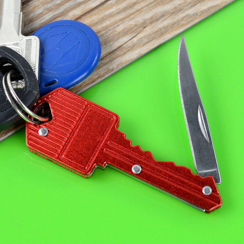 Wholesale Multi-functional Outdoor Knife Keychain Knife Folding Knife Fruit Knife Defensive Camping Knife