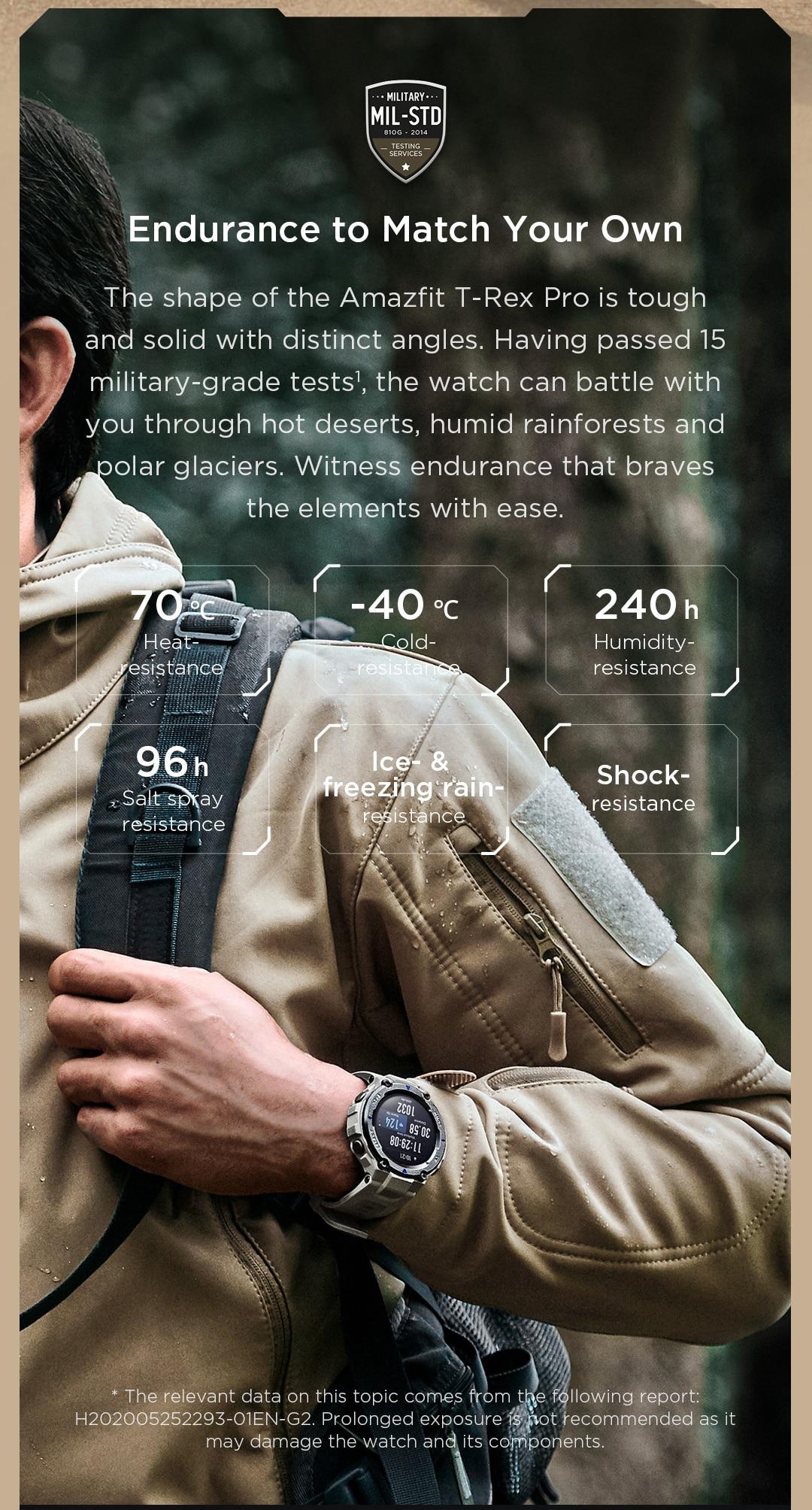 Amazfit T-Rex Pro Smartwatch 8