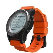 S966 GPS חכם שעון גברים קצב לב צג לחץ אוויר כושר Tracker שעוני יד מצפן גובה ספורט Smartwatch