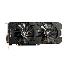 Yeston RX580 2048SP 8G D5 GAEA Grafikkarten Radeon Chill Polaris 20 Dual Fan Kühlung 8GB Speicher GDDR5 256bit DP * 3/HD/DVI-D