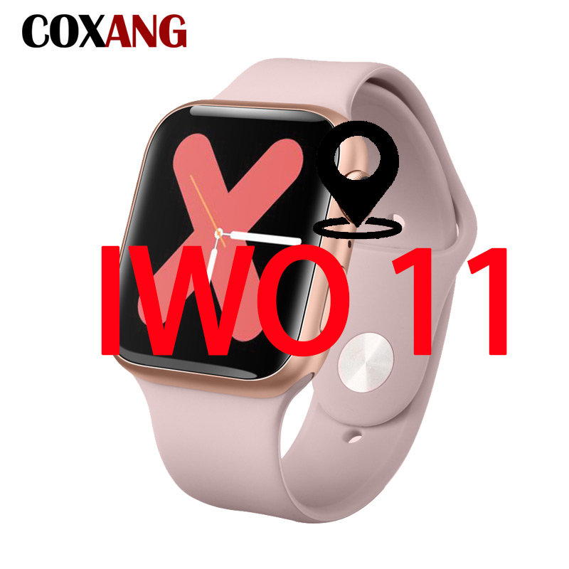 COXANG IWO 11 Smart Watch iwo 8/10 Plus Version Smart Watch With Heart Rate Monitor GPS iwo 9 Plus Smartwatch For Apple Android image