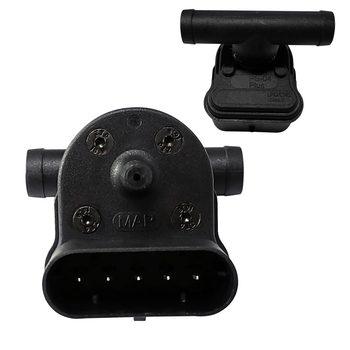 5 pinów czujnik MAP PS-04 Plus czujnik ciśnienia gazu do zestawu do konwersji LPG CNG akcesoria samochodowe tanie i dobre opinie CN (pochodzenie) universal 5 2cm Wloty powietrza 0 1kg Map Sensor 4 4cm