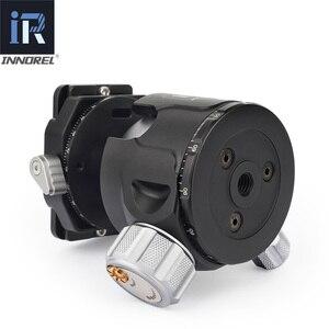 Image 4 - Low Center of Gravity 52mm 44mm 36mm tripod Ballhead Double U Notch ultra low profile Damping setting CNC ball head heavy duty